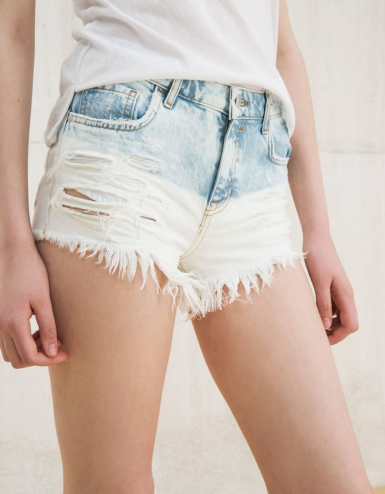 Джинсовые шорты женские эро фото фото 122-855