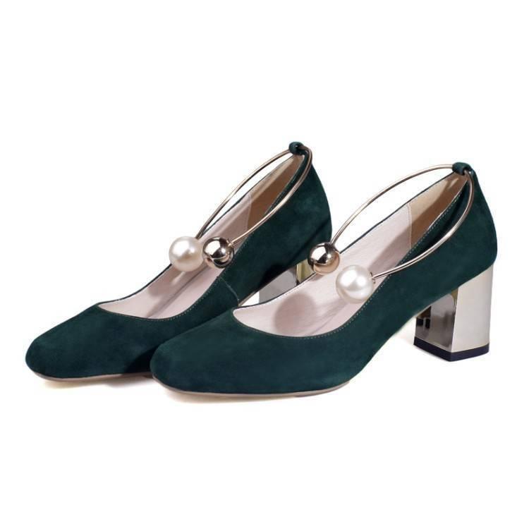 Замшевые зеленые туфли рекомендации